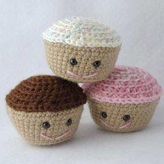 cute cupcake - Free amigurumi pattern