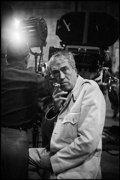 """Erich HARTMANN :: John Huston on the set of """"The Misfits"""", 1960"""