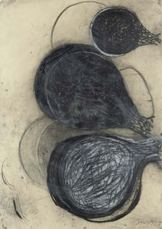 Terry Winters   Untitled   charcoal and chalk on paper
