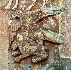 Hare Eagle grips ... Holy. Cross-10th century. Rshtuniq, Vaspourakan, Greater Armenia.