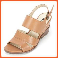 White Mountain 'SAUTE' Women's Sandal, Luggage Leather - 5 M - Sandals for women (*Amazon Partner-Link)