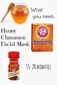 Honey Cinnamon Face Mask for clear skin : A Facial You Can Eat...