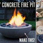 Build An Amazing Fire Pit In Your Garden - Find Fun Art Projects to Do at Home and Arts and Crafts Ideas