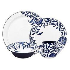 Denby u0027Malmo - Bloomu0027 Four-Piece Place Setting (u20ac115) ?  sc 1 st  Pinterest & Denby Caramel Stripes Dinner Plate #Denby | Denby Dinnerware ...