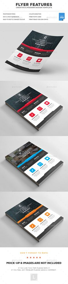 Corporate Flyer Design Template - Flyers Print Template PSD. Download here: http://graphicriver.net/item/corporate-flyer/16757831?s_rank=58&ref=yinkira