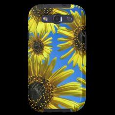 Sunflower  Samsung Galaxy Case by Valxart.com