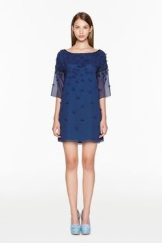 Minidress blu Twin Set Simona Barbieri