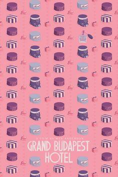 GRAND BUDAPEST HOTEL POSTER Art Print by Maxime Pecourt | Society6