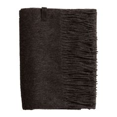 Amazing Amy - Dark Grey Wool/Cashmere Scarf - 95 % Wool / 5 % Cashmere (83 CAD) ❤ liked on Polyvore featuring accessories, scarves, wool shawl, woolen shawl, cashmere scarves, wool scarves e cashmere shawl