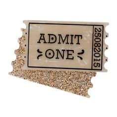 Hollywood Glamour, Glamour Movie, Admit One Ticket, Free Base, Movie Tickets, The A Team, Another World, My Collection, Resin Jewelry
