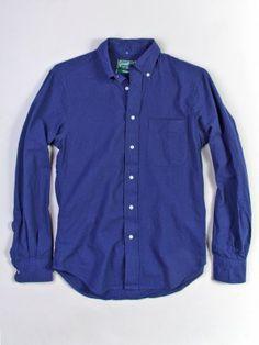 Gitman Vintage Blue Seersucker Shirt