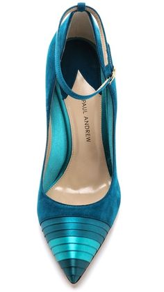 Paul Andrew's Mary Jane Strap Pump | The House of Beccaria# ~ Cynthia Reccord