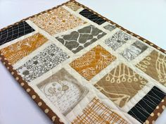 Mini quilt by salty//oat made with Umbrella Prints Trimmings 2012.  http://www.umbrellaprints.blogspot.com.au/