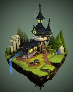 ArtStation - Castle, Vu Phan
