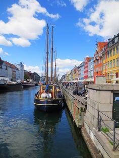 Nyhavn by Day, Copenhagen, Denmark