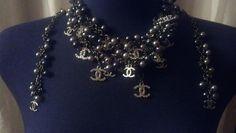 Designer Inspired Gunmetal Pearl Shades Of Grey by heartSunshine, $99.00