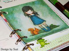 Gorjuss Journaling Card