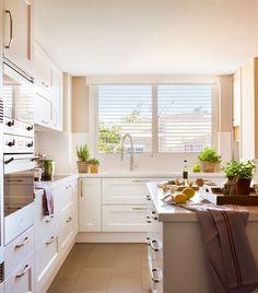 52 mejores imágenes de Cocinas pequeñas y muy bien aprovechadas ...