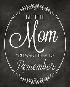 Some inspiration for your Tuesday  Always be the best mom you can be! ♥ Like on Instagram @LiapelaModernBaby