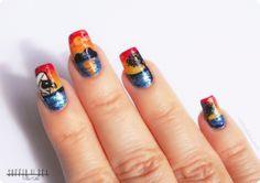 """Nail Art """"Tramonto sul Vesuvio"""""""