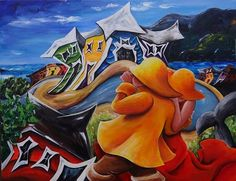 Newfoundland Art - Marie-Jose Williams Art Gallery Newfoundland And Labrador, Beautiful Islands, Goat, North America, Art Gallery, Canada, Paintings, Sweet, Artist