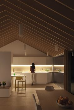 10 fresh kitchen designs for your Friday inspiration Refurbishment for Eduardo, Laura & Enzo in Petrer, Spain by Pablo Muñoz Payá Arquitectos Archinect - Kitchen Decoration Küchen Design, Layout Design, Design Ideas, Casa Loft, Decoration Inspiration, House In The Woods, Kitchen Interior, Interior Architecture, New Homes