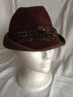 Vintage Fedora hat. Cool Stuff For Sale ... a93e14b37ebb