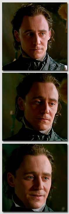 """You are so different..."" ""From who?"" ""From the others."" (Sir Thomas Sharpe) That look!..."