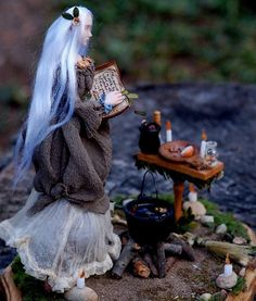 Spell by Chicory Dell Arts Faerie Folk