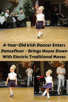 This famous quote from Tom Jones was proven true by this 4 years old Irish dancer. Does she have what it takes to be a future world champion someday? Watch her and tell us your thoughts.