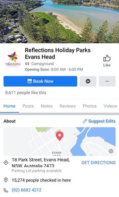 NSW Holiday Park, Camping Spots, Parking Lot, Get Directions, People Like, Australia, Photo And Video, Street, Parking Space