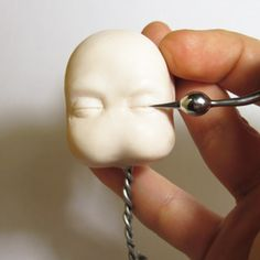 Polymer Clay Baby Sculpting Tutorial Part 3
