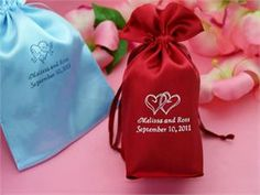 Personalized Satin 6x9 Bags  100 count $44.99