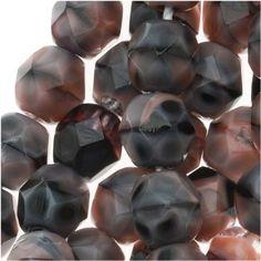 Czech Fire Polish Glass Beads 6mm Round Pink Rhodonite (25): Amazon.co.uk: Kitchen & Home