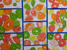 Year 5 Paul Klee Cats   Pastel                Year 3 - Hot/Cold Mountains   Pastel                    Year 1 - Fruit Slice    Medium & ...