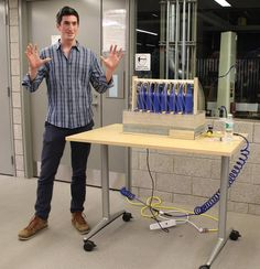 Yale Student Creates Incredible Beer Bottle Keyboard with Help from 3D Printing http://3dprint.com/32674/3d-print-beer-bottle-keyboard/