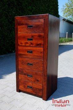 Wąska #komoda o pięknym kolorze z 6 praktycznymi szufladami @ http://bit.ly/1ZrgHBB  #beautiful #furniture #warsaw