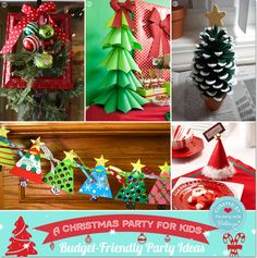 budget friendly kids christmas decor party guide featured by bellenza christmas decorations for - Christmas Theme Party Ideas