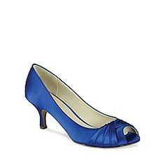 'Romantic' pleated peep toe shoe