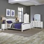 Newport 5-Piece White Queen Bedroom Set