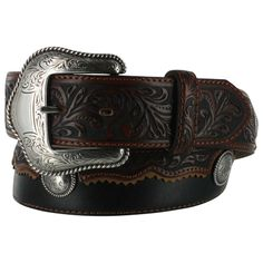 Tony Lama Men's Cowboy King Western Leather Belt