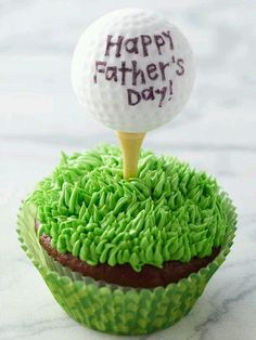 from Tee Time to Cupcake Time this is a sweet Father's Day treat