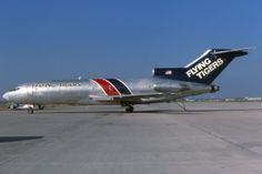 PlaneSpotters Slide-Collections: Flying Tigers B727 freighter