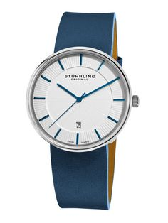 It's a man's watch, but I'm buyin' it anyway! Men's Fairmount Slim Watch by Stuhrling Original on Gilt.com