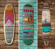 Cubierta de crucero/longboard skateboard/mini personalizados
