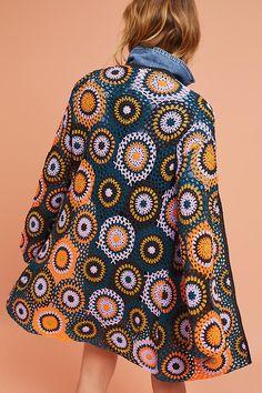 ergahandmade: Crochet Cardigan + Diagram