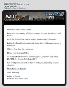 Wall Street Daily- [ need this Now !!!}