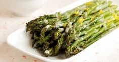 Roasted Asparagus with Lemon Dill Cream Sauce (Best Produce Pick!)