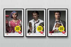 """Chambre des Métiers et de l'Artisanat I Campagne 2013 """"Jamais sans mon artisan"""" © La langue du caméléon : agence de design stratégique et créatif pour les marques digitales. www.cameleons.com"""