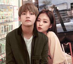 Korean Couple, Best Couple, Jimin, Bts Taehyung, Billboard Music Awards, Kim Jennie, Kpop Couples, Cute Couples, Lisa